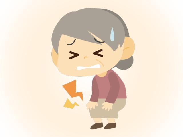 膝痛にもびわ灸3